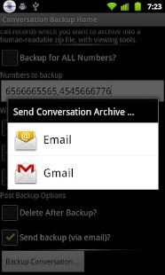 Conversation Backup- screenshot thumbnail