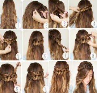 Hairstyles (Step by Step) screenshot 0