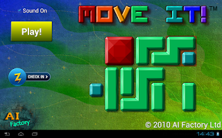 Screenshot of Move it! Free - Block puzzle