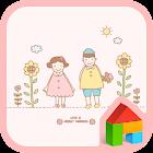 Flower dodol launcher theme icon