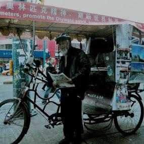 Olympic man by David Chu - People Street & Candids ( @ go4david @chu @toronto fire dept @2013 #alarm @cbcnews )