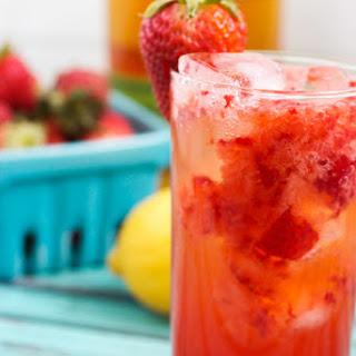 Strawberry Whiskey Sour.