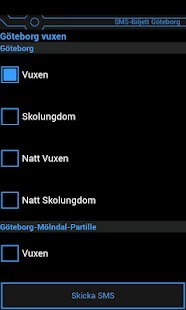 SMS-Biljett Göteborg- screenshot thumbnail