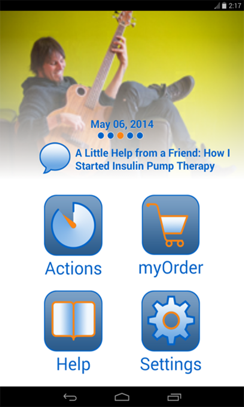 myMedtronic Connect- screenshot