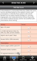 Screenshot of Cardiac Stress Testing apc