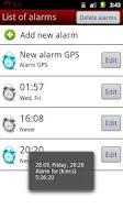 Screenshot of GPSup!