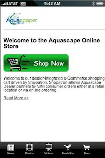Aquascape Pond App - screenshot thumbnail