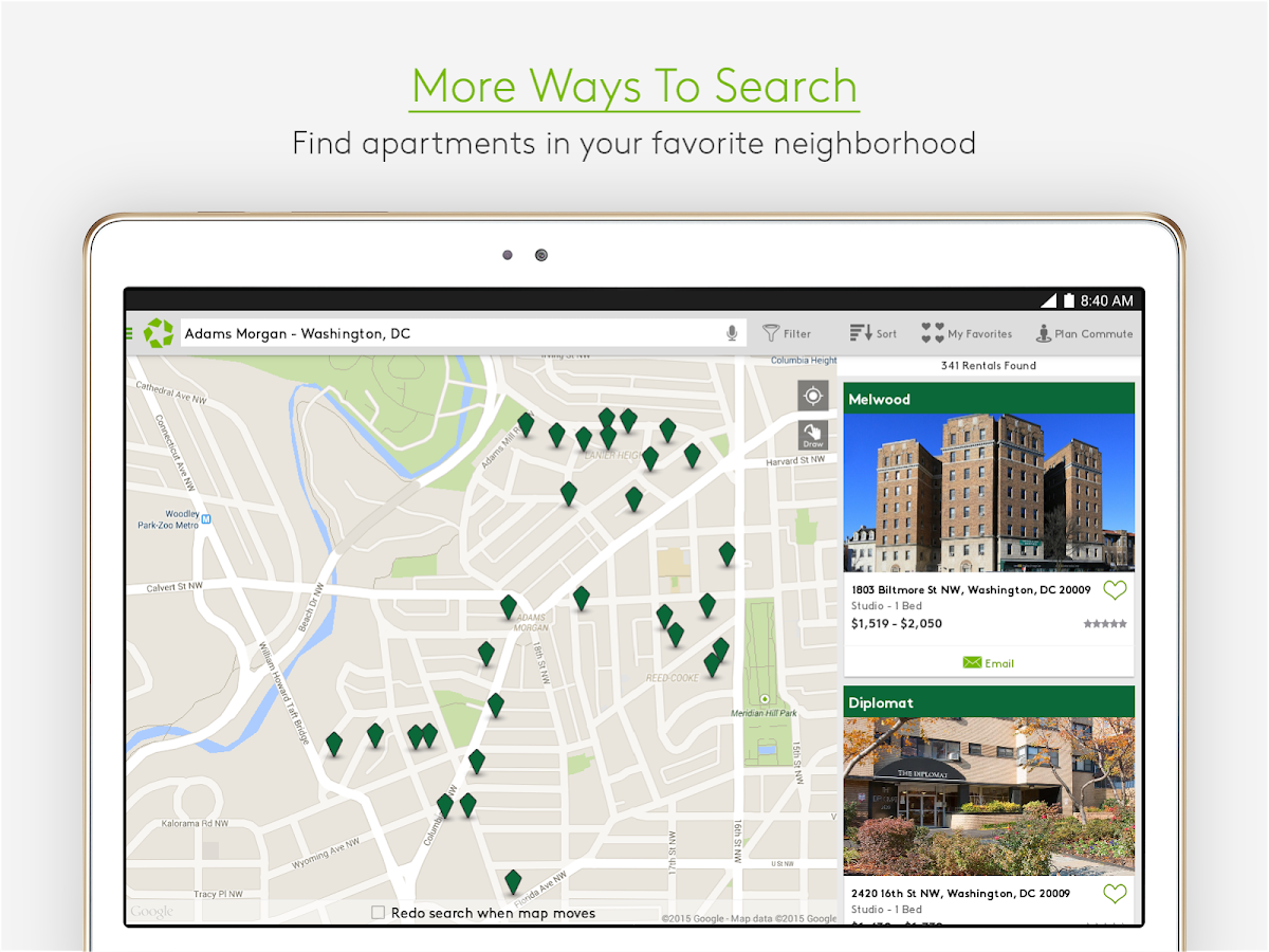 Apartments.com Rental Search - screenshot