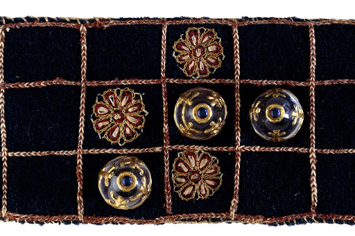 Velvet Pachisi game board