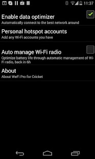 WeFi Pro for Cricket - screenshot thumbnail
