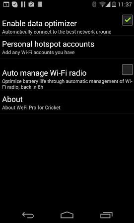 WeFi Pro for Cricket 2.0.0.94 screenshot 191217