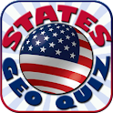States Geo Quiz - Geography Gm icon