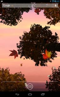 玩免費個人化APP 下載Falling Leaves Live Wallpaper app不用錢 硬是要APP