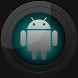 Next Launcher Black and Cyan image