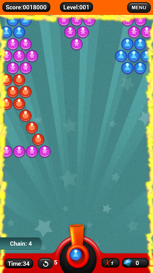 Bubble Shooter Deluxe- screenshot