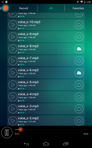 Voice Recorder - Dictaphone 2.6 screenshots 18