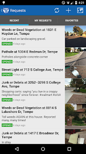 Tempe 311- screenshot thumbnail