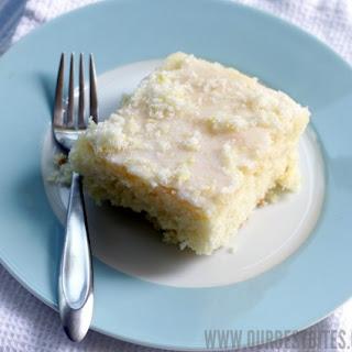Lemon Buttermilk Sheet Cake.