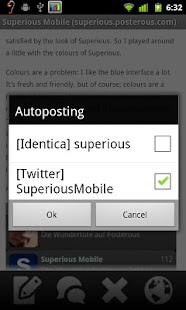 Superious (Posterous Spaces) - screenshot thumbnail