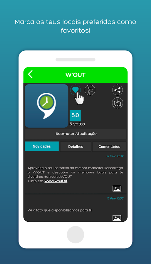 WOUT- screenshot
