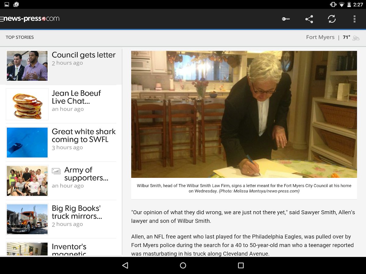 The News-Press - screenshot