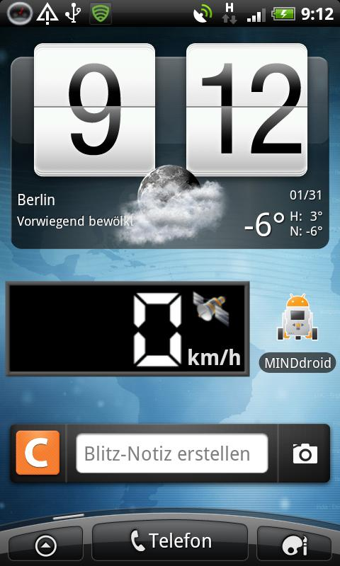 Android-Speedometer - screenshot