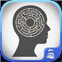 prevent alzheimer with maze icon