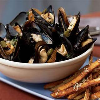 Mussels Ravigote.