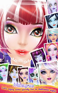 Halloween Makeup Me- screenshot thumbnail