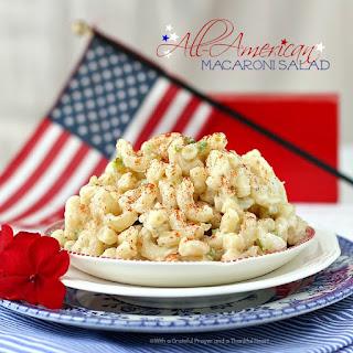 All-American Macaroni Salad.