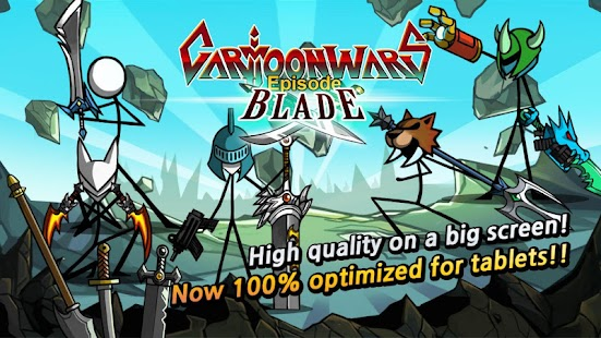 Cartoon Wars: Blade Screenshot