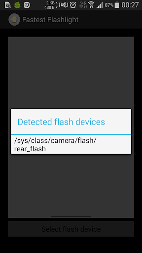 [ROOT] Fastest Flashlight