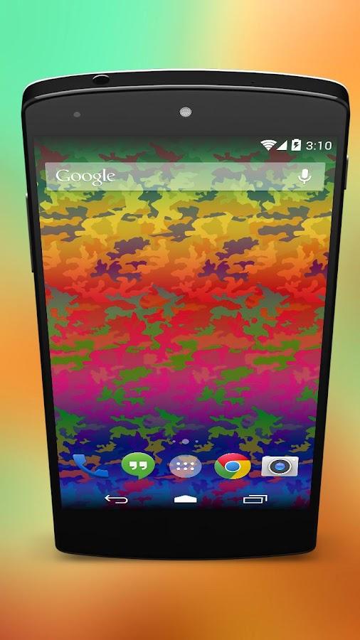 Pride Rainbow Camouflage - screenshot