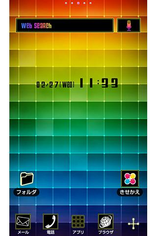 Color Grid for[+]HOMEきせかえテーマ