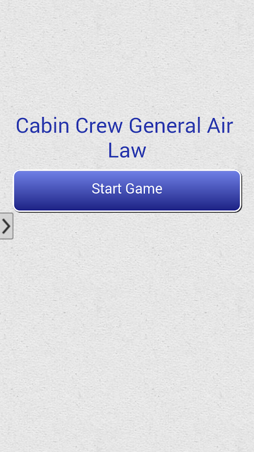 Cabin Crew General Air Law- screenshot