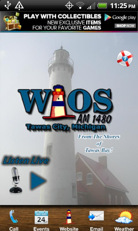 WIOS 1480 AM - screenshot