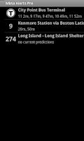 Screenshot of MBTA Alerts Pro