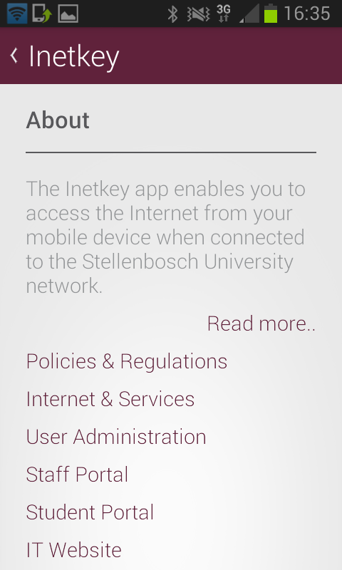 Inetkey- screenshot