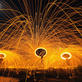 One Man Show by Azri Suratmin - Abstract Fire & Fireworks (  )