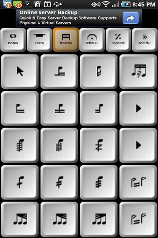 Remote Control for Sibelius- screenshot