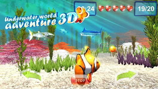 Underwater world. Adventure 3D v1.02