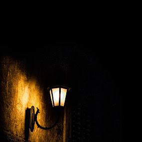 light in the dark  by Nina Kriznic - Artistic Objects Still Life ( lamps, lights, shadow, street, dark, lamp, dark background, streets, light, , mood factory, color, lighting, moods, colorful, bulbs, mood-lites )