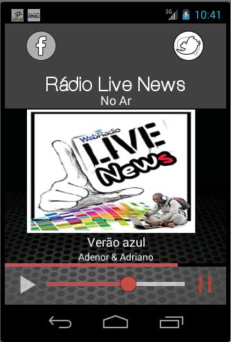 Web Rádio Live News