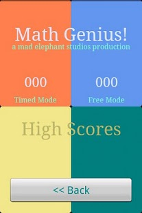 Math Games - Maths Genius!- screenshot thumbnail