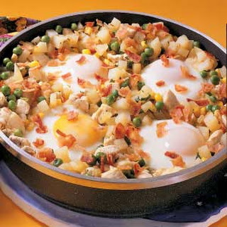 Chicken and Egg Hash.