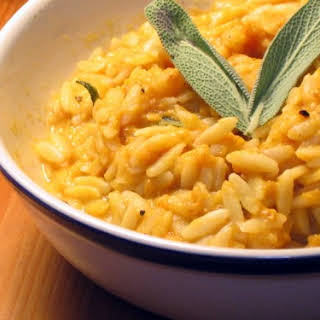 Pumpkin Orzo with Sage.