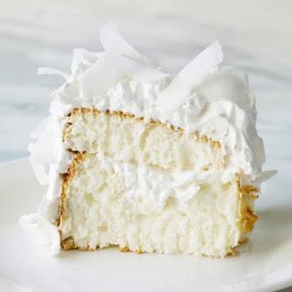 Coconut Cloud Cake.