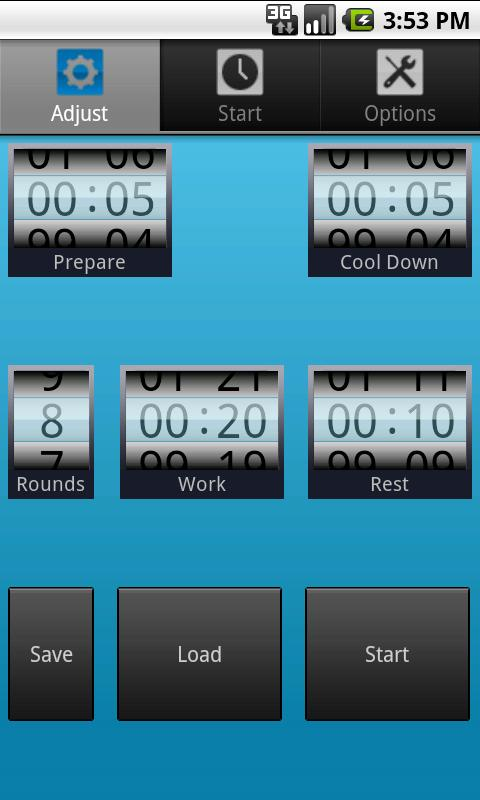 My HIIT Timer - screenshot