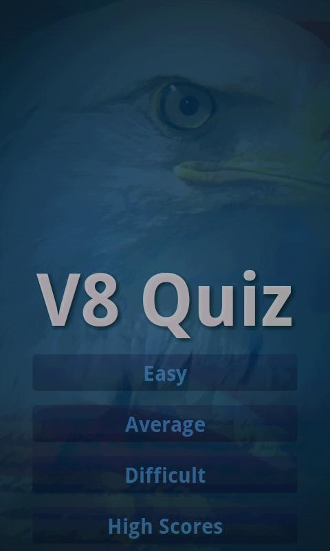 V8 Quiz - EXPERT Edition - screenshot
