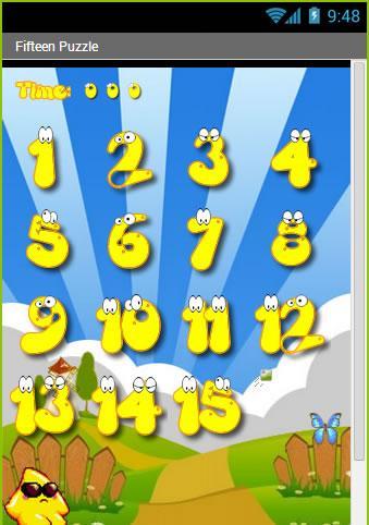 The game of 15 free - screenshot